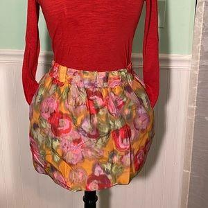 Jcrew 00 colorful skirt